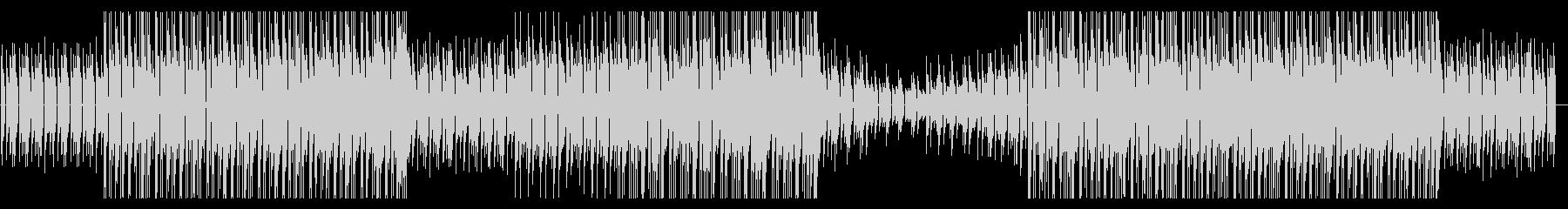ピアノループが印象的なインストの未再生の波形