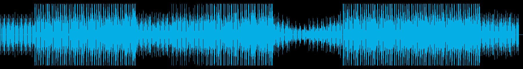 ピアノループが印象的なインストの再生済みの波形