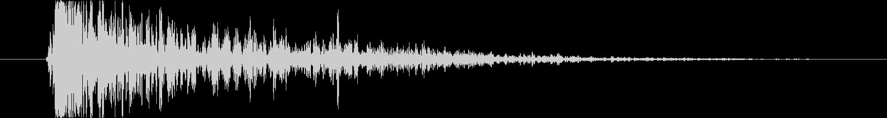 リアルな爆発の音(火の魔法・爆弾など)の未再生の波形