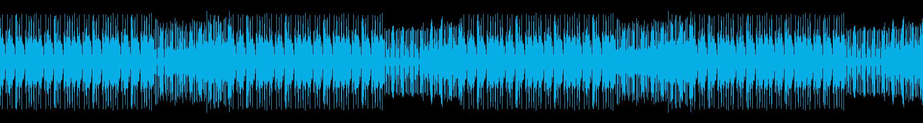 ダークな感じのトラップループの再生済みの波形