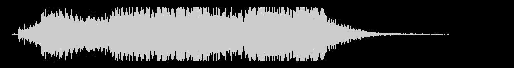 壮大で不気味なハロウィンオーケストラロゴの未再生の波形