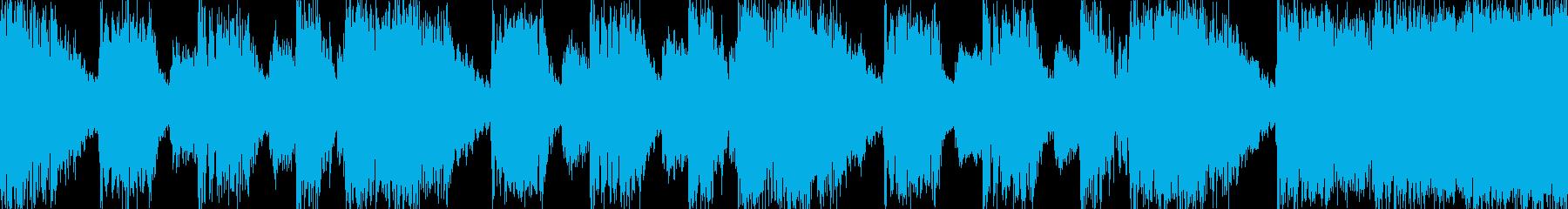 ブラス系POP おちゃめ Loop素材の再生済みの波形