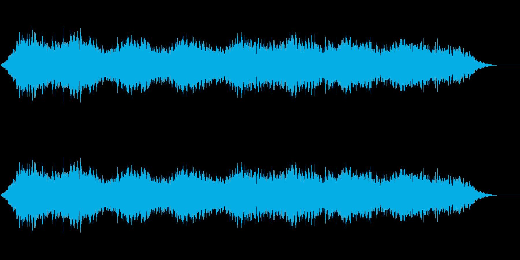 スペースアンビエンス4の再生済みの波形