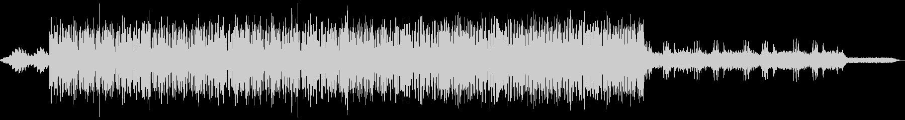 アンビエント系ピアノエレクトロの未再生の波形