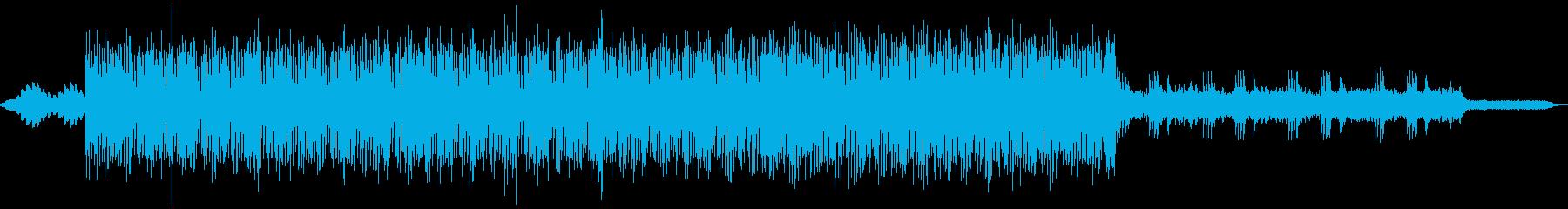 アンビエント系ピアノエレクトロの再生済みの波形