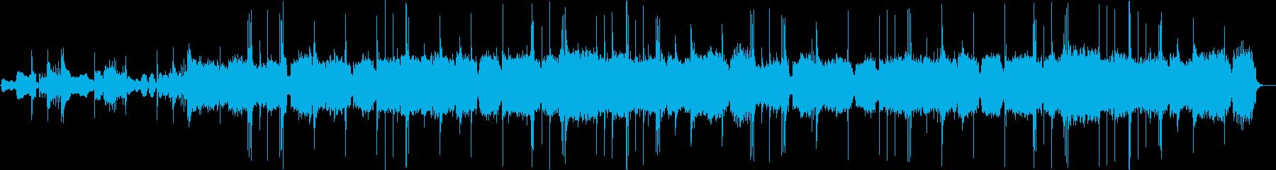 雅楽で最も有名な曲『越天楽』の再生済みの波形