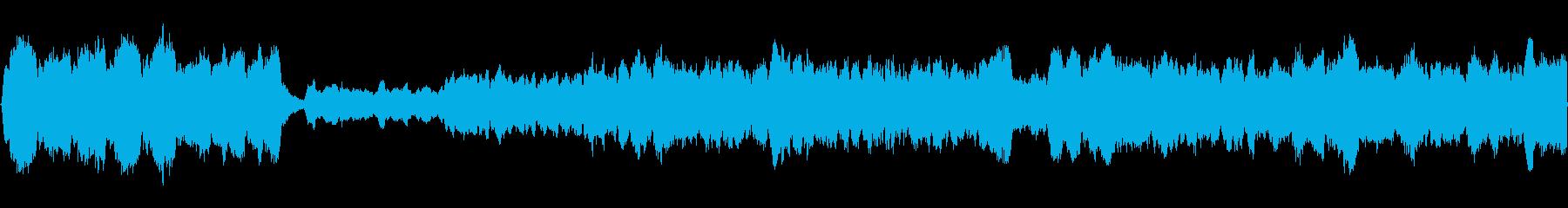 神聖なパイプオルガンのクラシックの再生済みの波形