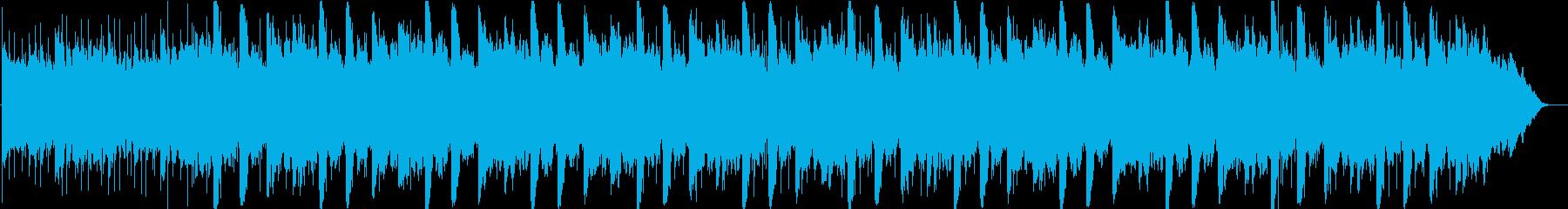 眠りの世界へヒーリングミュージックの再生済みの波形