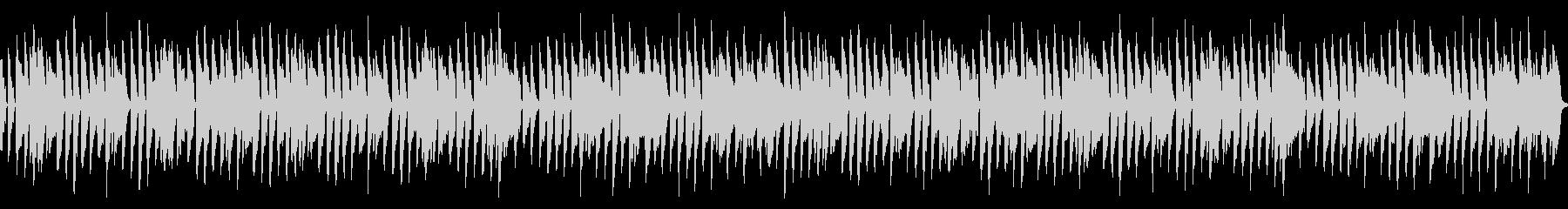 ほのぼのループBGMの未再生の波形