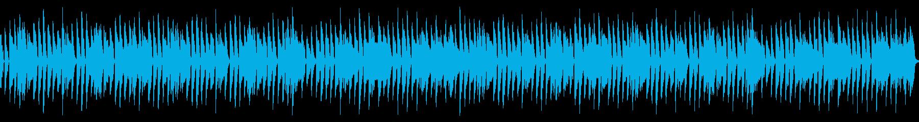 ほのぼのループBGMの再生済みの波形