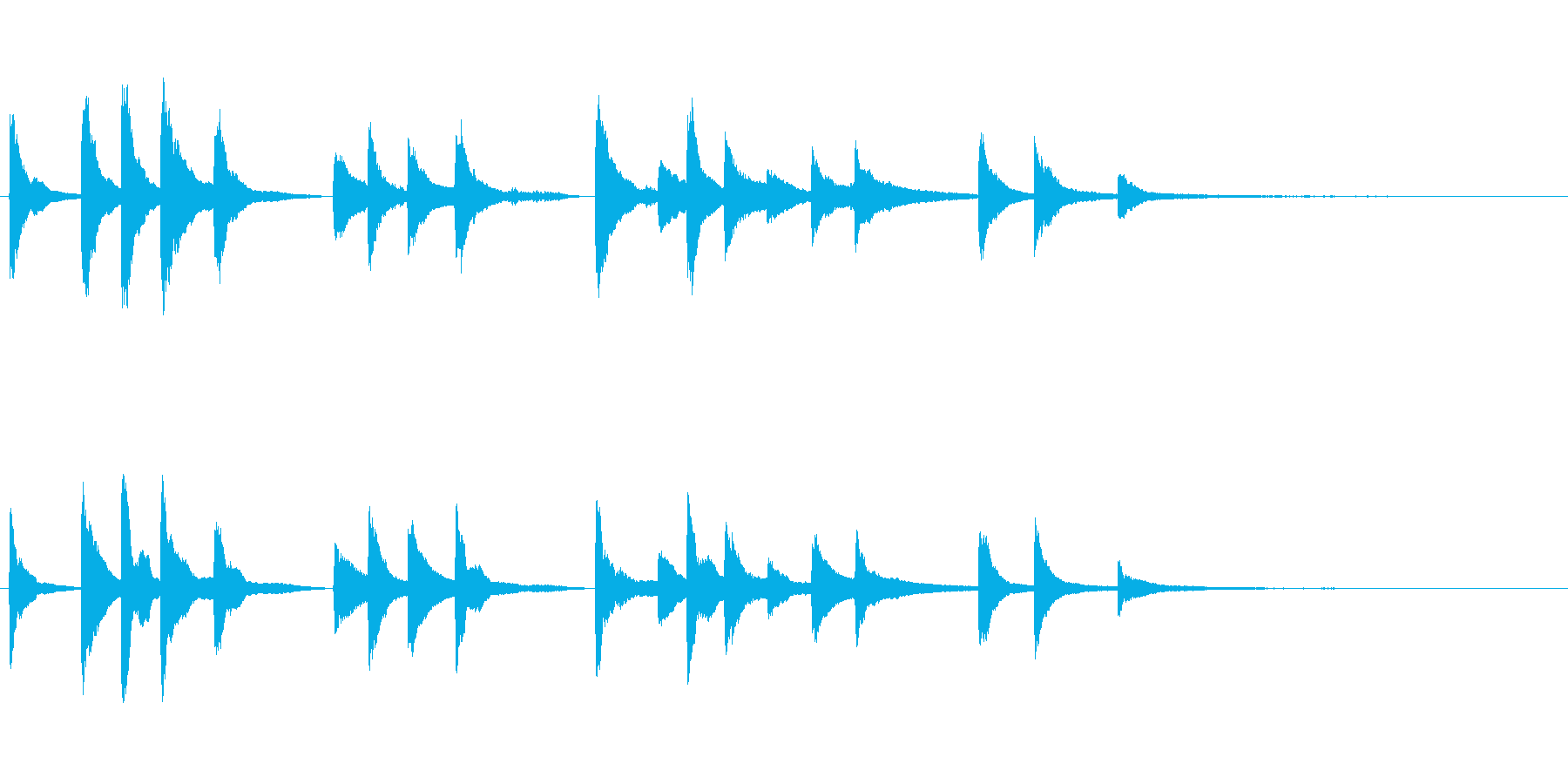 朗読・証言のBGM用~短いピアノソロ~の再生済みの波形