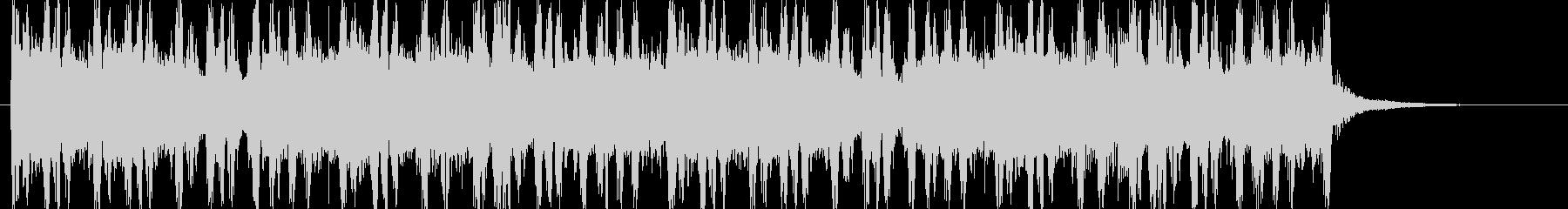 OP ED ノリノリなドラムパターンの未再生の波形