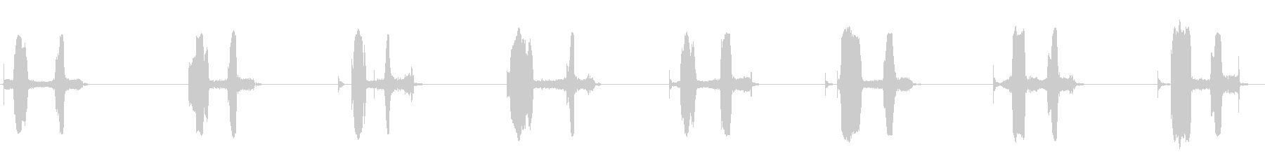 フェルトチップマーカー:円形ストロ...の未再生の波形
