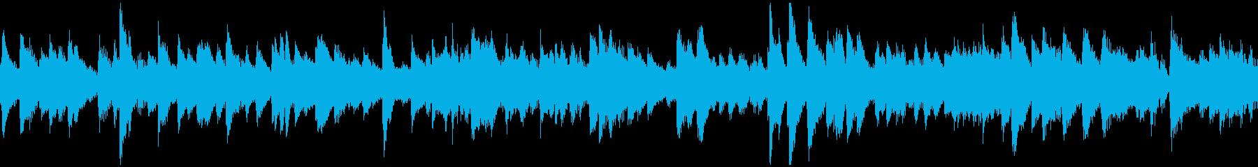 ピアノを備えたイージーリスニングア...の再生済みの波形