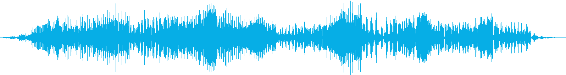 空腹でお腹がグウと鳴る音05の再生済みの波形