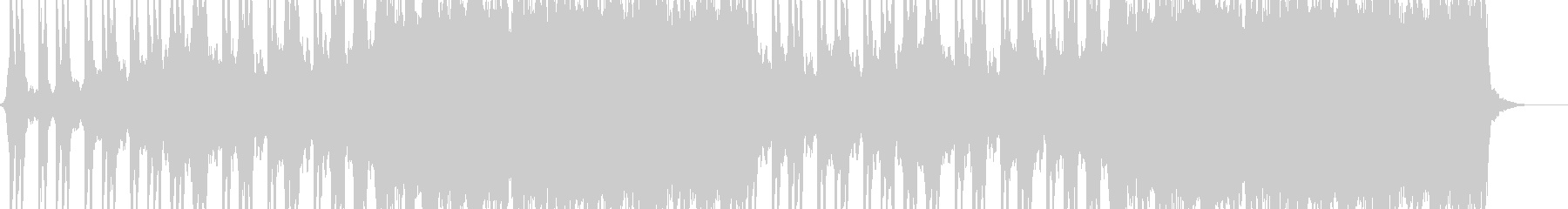A catchy and memorable guitar riff's unreproduced waveform