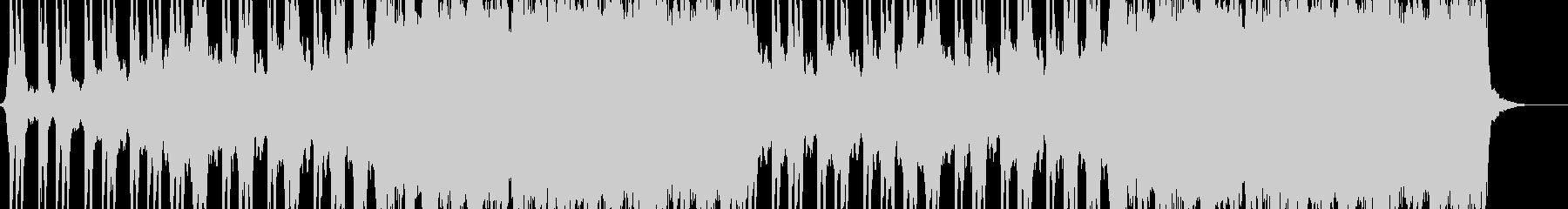 ロックハードバックグラウンドの未再生の波形