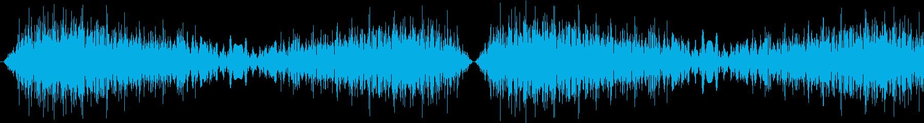 DJプレイ スクラッチ・ノイズ 2の再生済みの波形