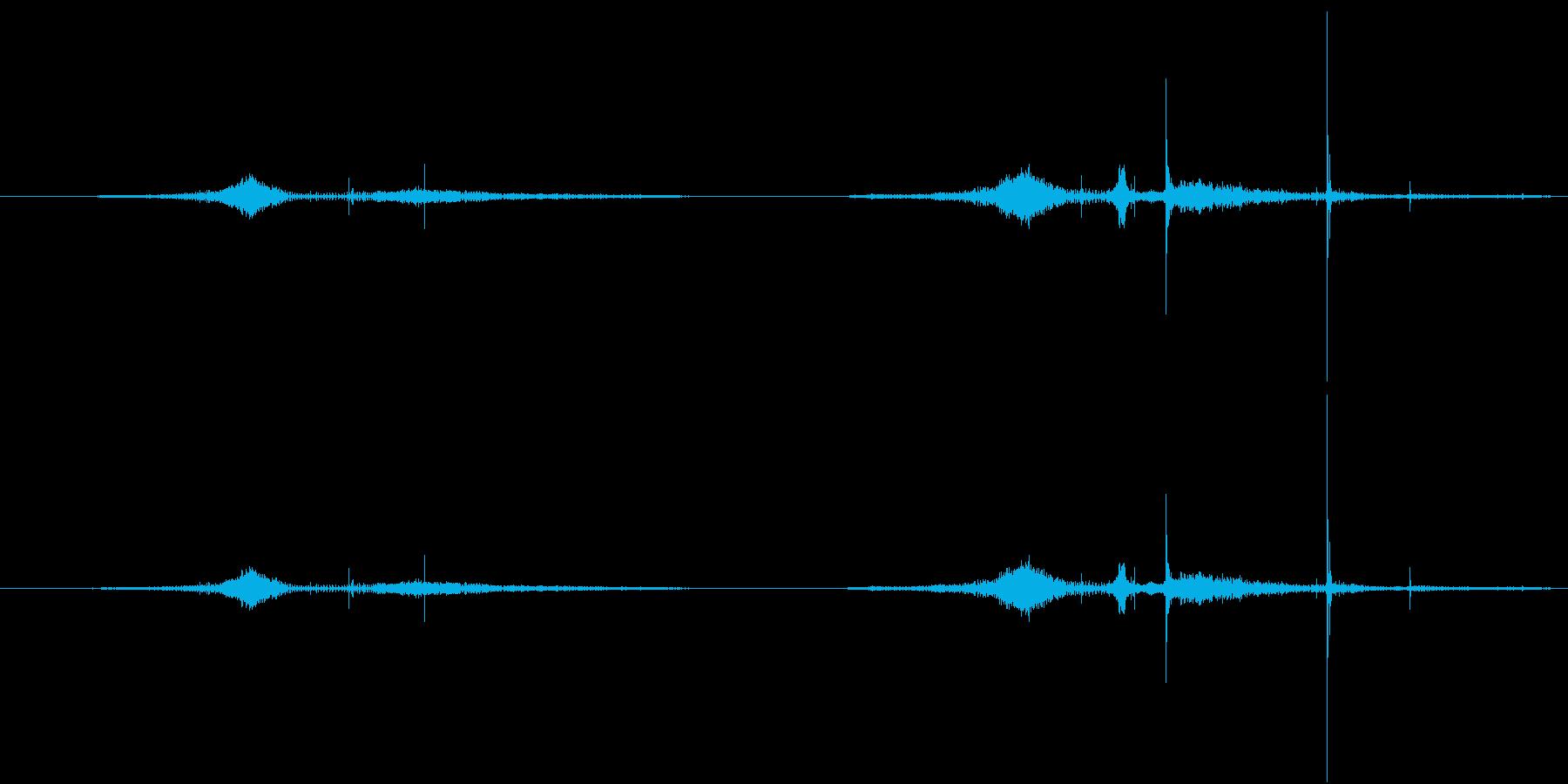 BMX 操縦パイプ01の再生済みの波形