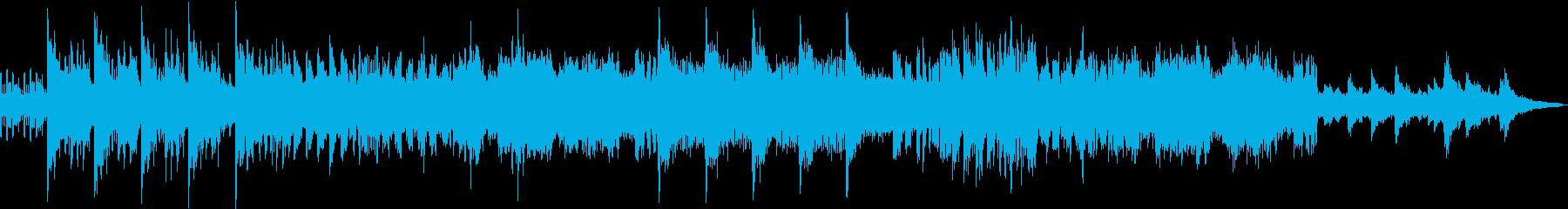 ダークで不穏な暗めサウンドの再生済みの波形