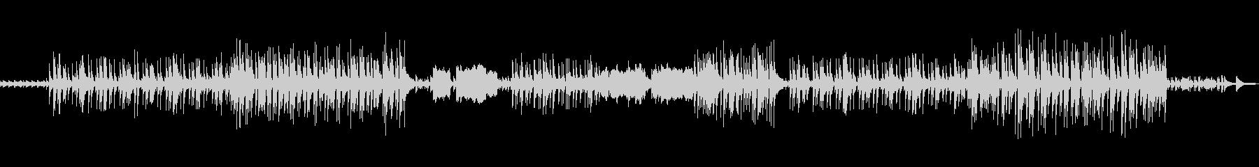 セレブビーチをイメージしたBGMの未再生の波形