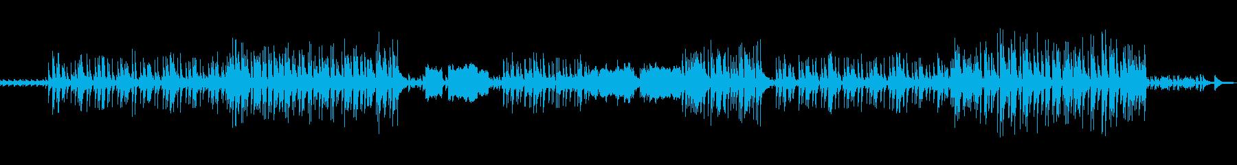 セレブビーチをイメージしたBGMの再生済みの波形