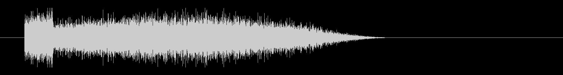 レーザー音-69-3の未再生の波形