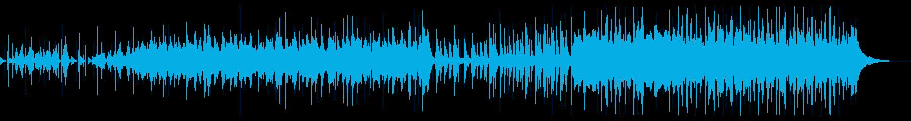 AppleのCM風なトランペットビートの再生済みの波形