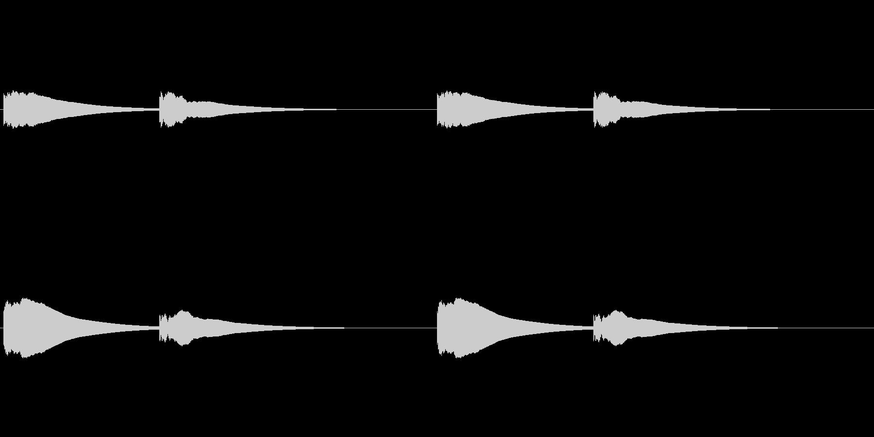 【改札 誘導音01-2L】の未再生の波形