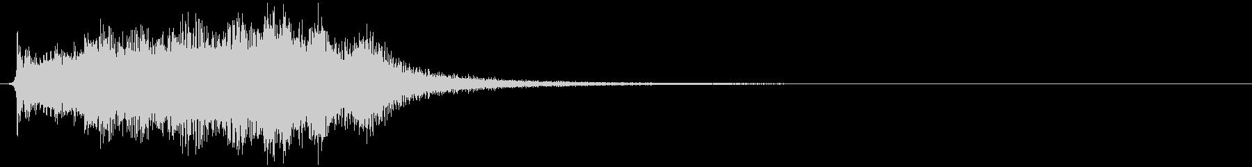 剣を抜く (金属擦れる) ジャリンの未再生の波形