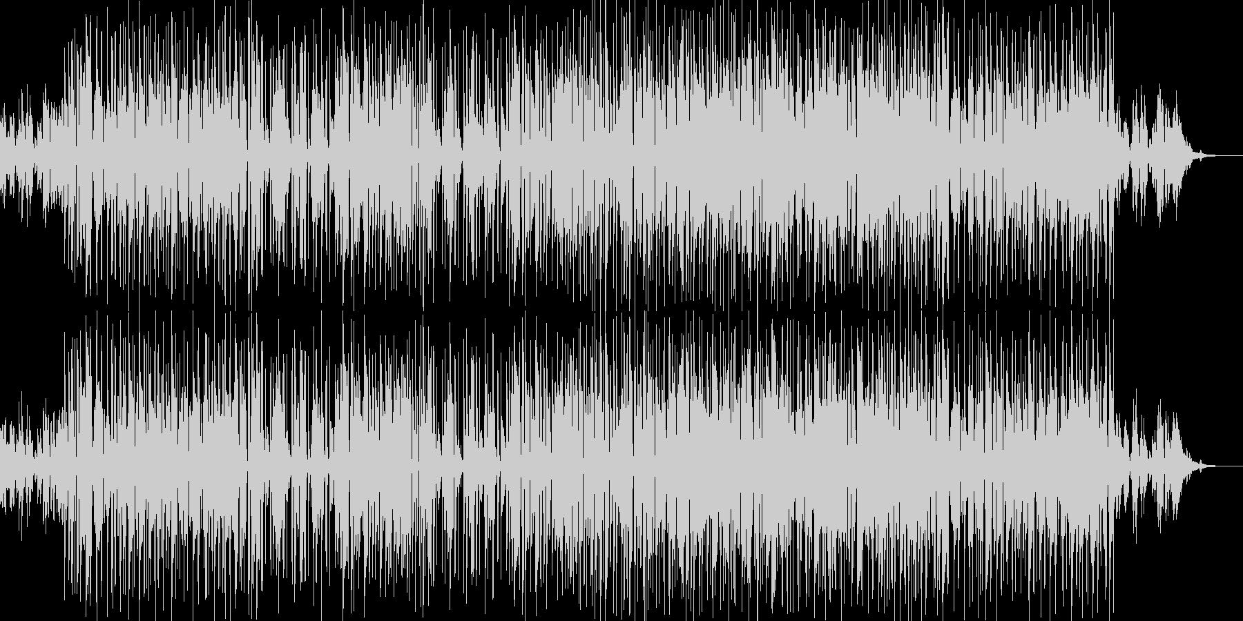 お洒落なジャズピアノトリオ13 ポップの未再生の波形