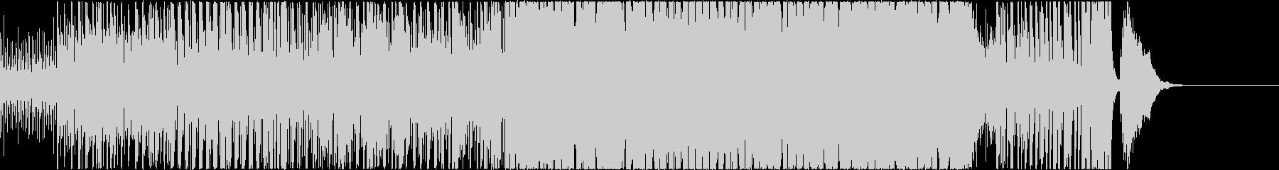 何か追加しようの未再生の波形
