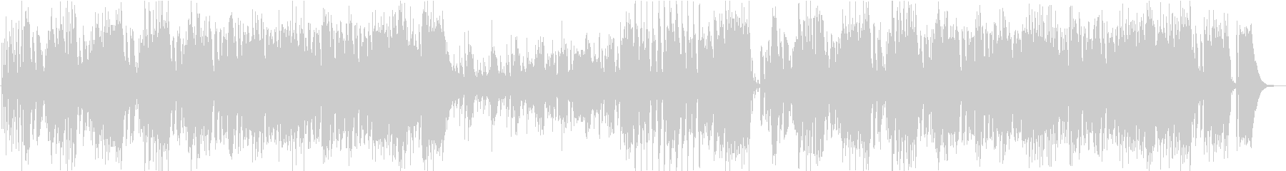 【CM】クール、ノリノリなJazzの未再生の波形
