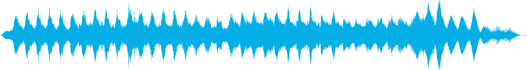劇伴 迷宮を連想させるアンビエントの再生済みの波形