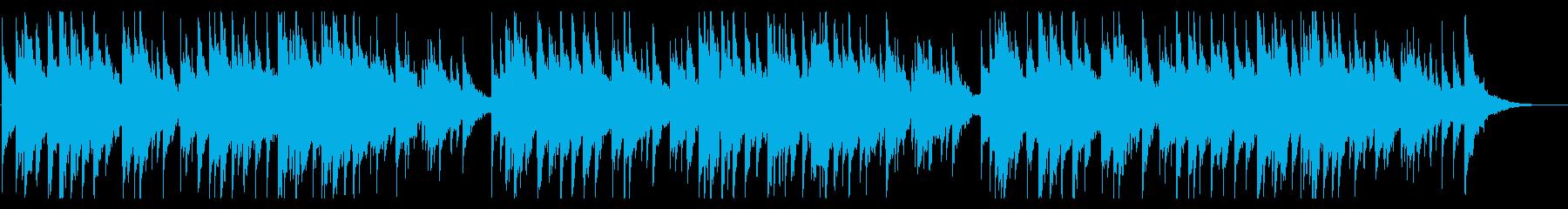 ★少し不思議な話に合いそうな★オルゴールの再生済みの波形