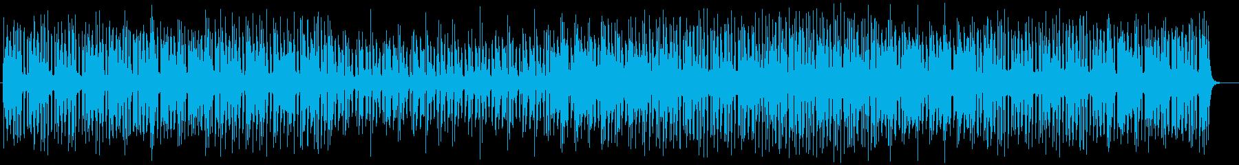 メロディーラインのしっかりしたポップの再生済みの波形