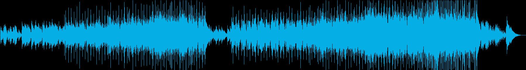 サックスが歌い上げる抒情的なバラードの再生済みの波形