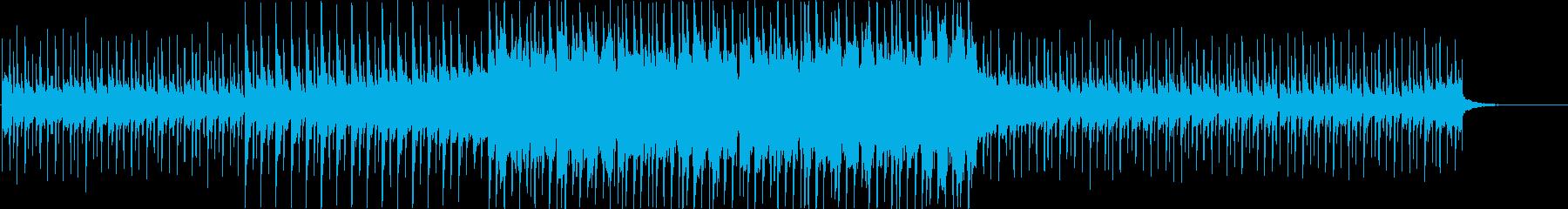 洋楽感のある夏らしいトロピカルハウス4bの再生済みの波形