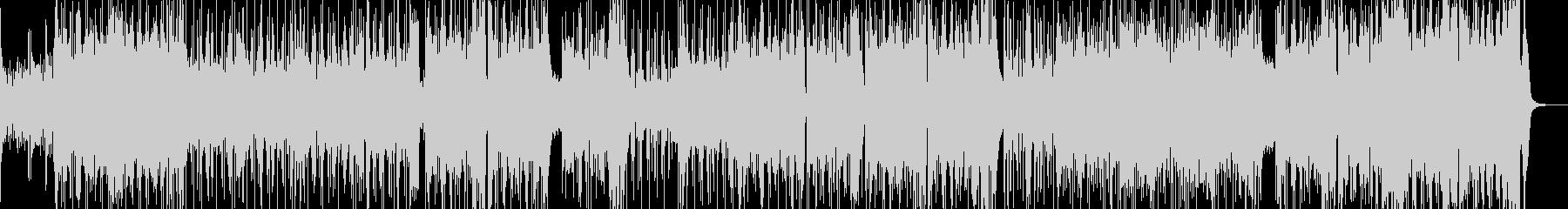 クイズ番組・カラフルなブラスポップスの未再生の波形