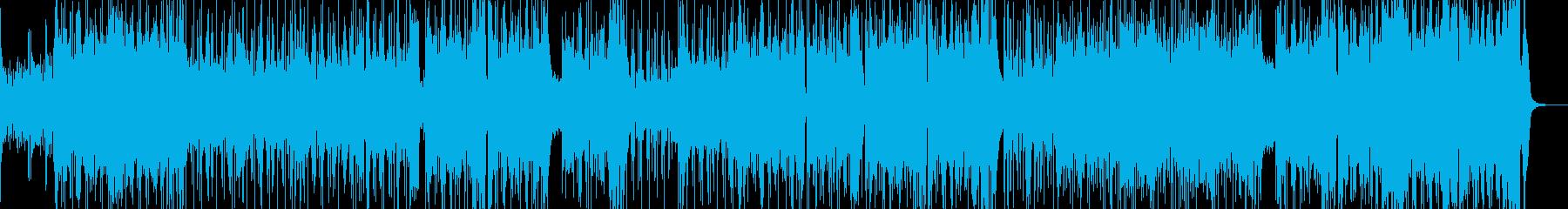 賑やかでカラフルなブラスポップス♪の再生済みの波形