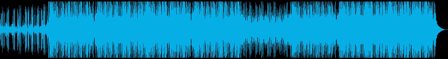 ディープハウスファッションの再生済みの波形
