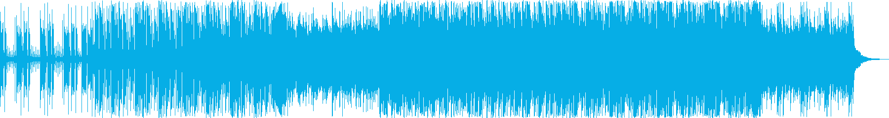 ポップ アクション 静か 繰り返し...の再生済みの波形