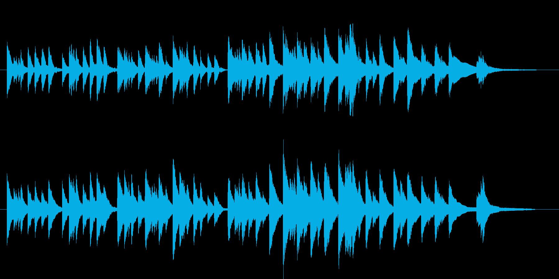 心の迷いと不安をピアノで表現の再生済みの波形