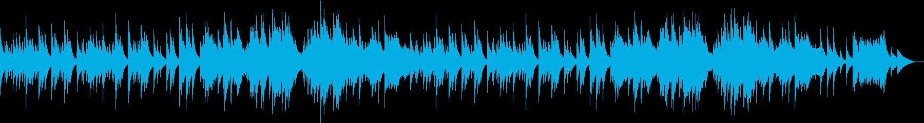 チェレスタの旋律がどこかなつかしい曲の再生済みの波形