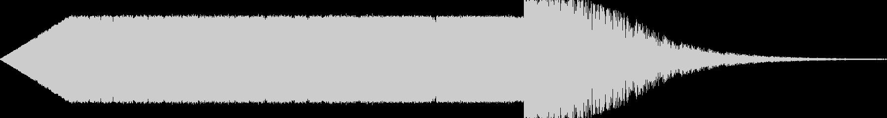 ステータスダウン系の下降音の未再生の波形