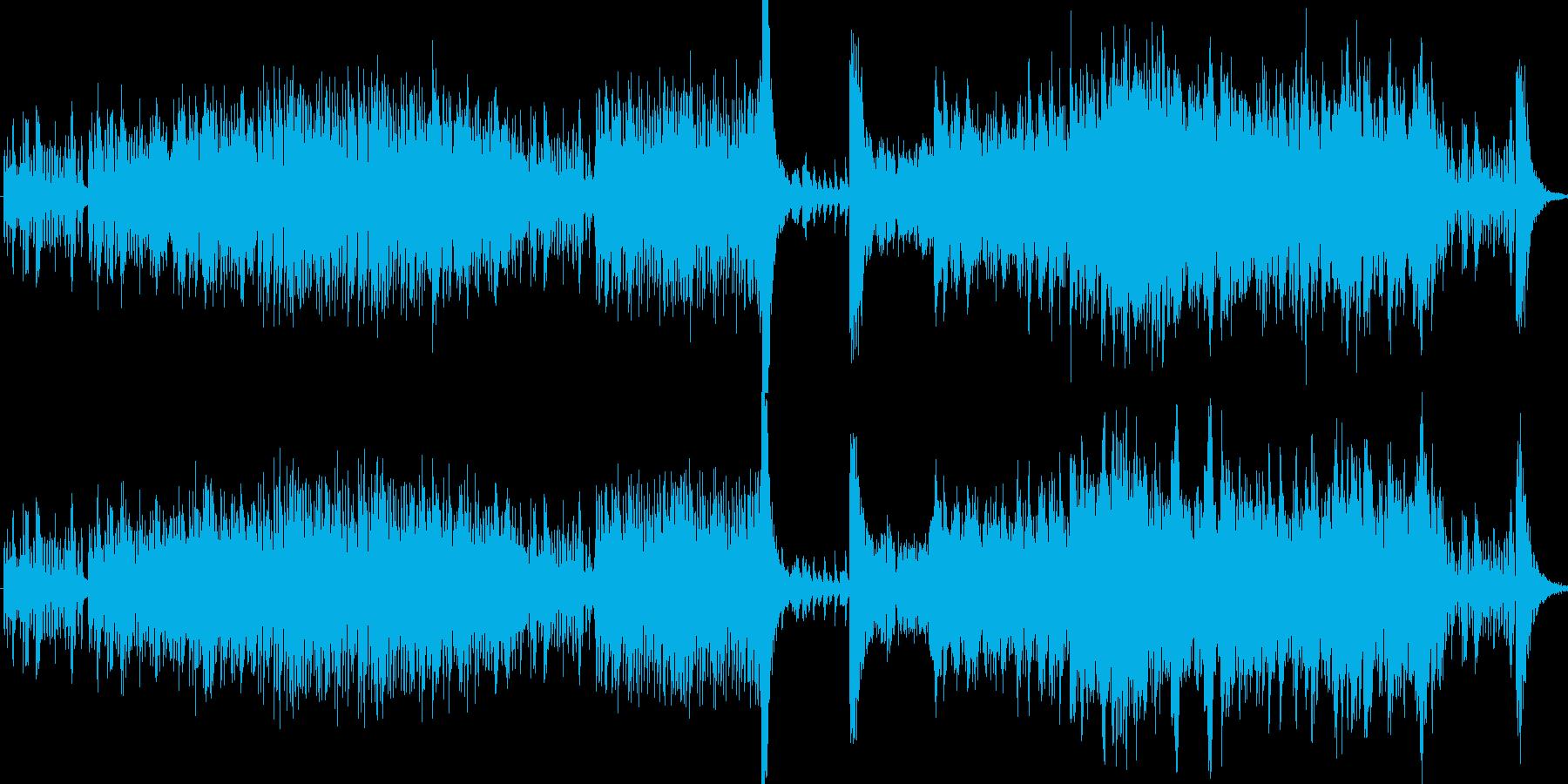 コーラスサックスとギターを使った深...の再生済みの波形