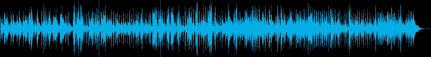 メロウな色彩のサンセットジャズワルツの再生済みの波形