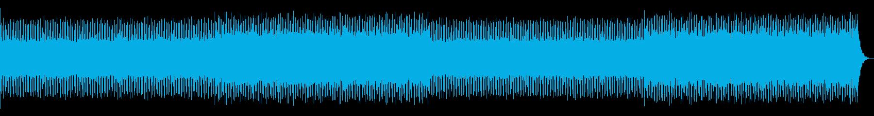 Fantastic, transparent, four-on-the-floor, pop's reproduced waveform
