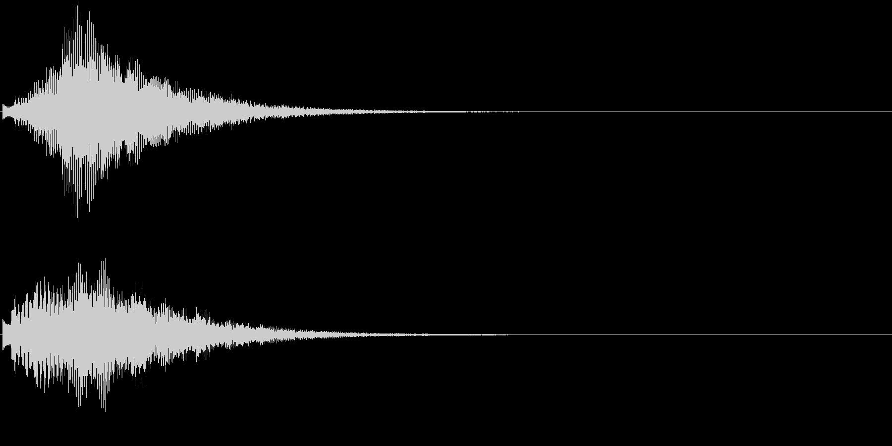 オープニング ロゴ VP等テロップに 3の未再生の波形