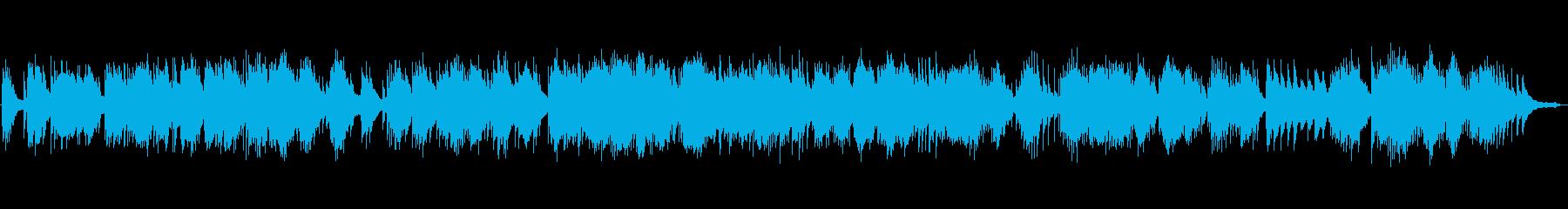 ほのぼの、少し切ないピアノソロの再生済みの波形
